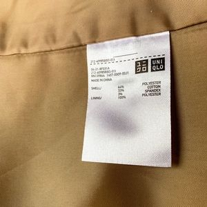 UNIQLO Jackets & Coats - UNIQLO trench coat in beige size Small